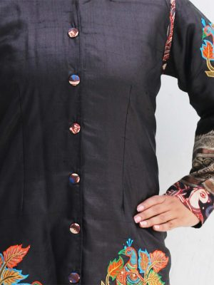Tussar Kalamkari Jacket