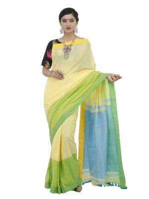 Yellow Khadi Cotton