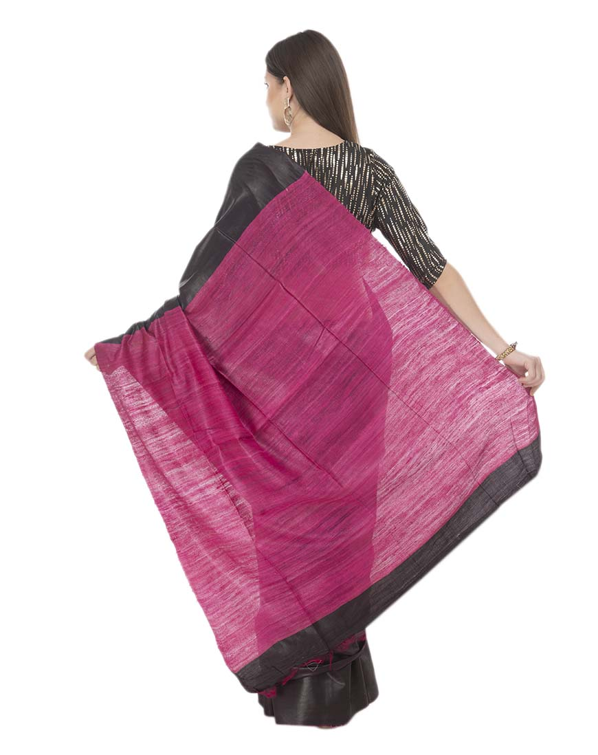 COTTON SILK GICCHA PALLU SAREE