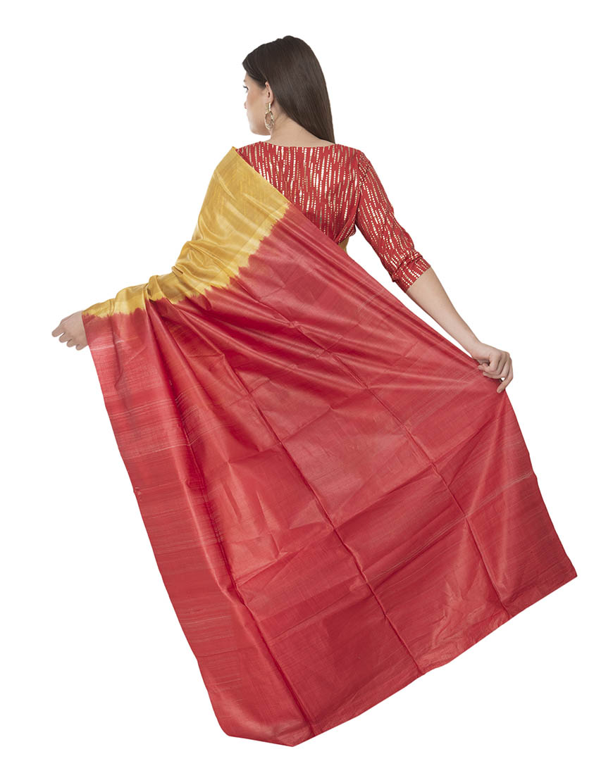GICCHA PALLU COTTON SILK  SAREE
